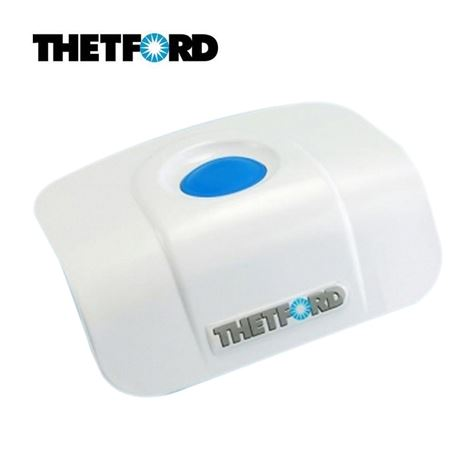 Thetford Bezel With Microswitch