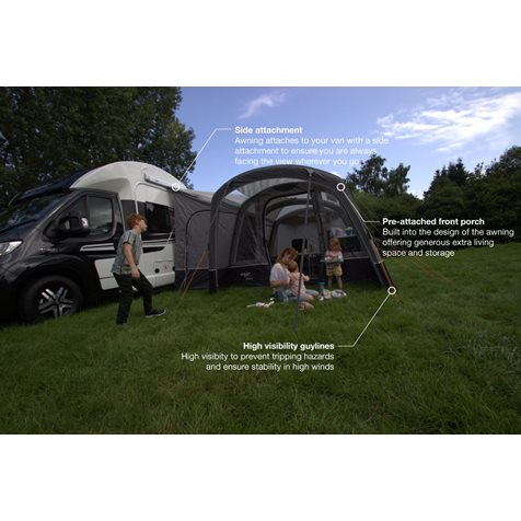 additional image for Vango Galli III Air Low Driveaway Awning - 2020 Model