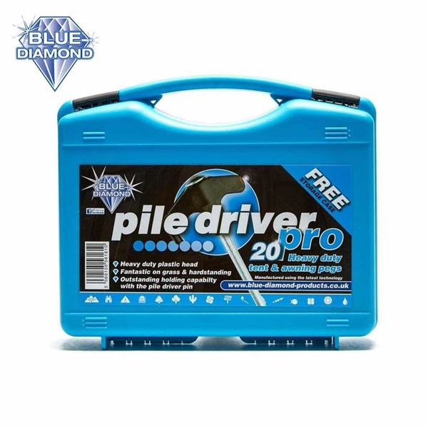 Blue Diamond Pile Driver Pro - 20 Tent & Awning Pegs