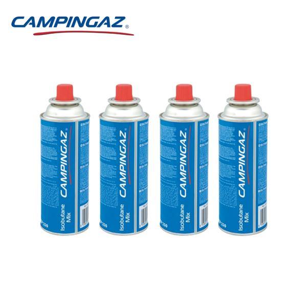 4 X Campingaz CP250 Resealable Gas Cartridges 220g