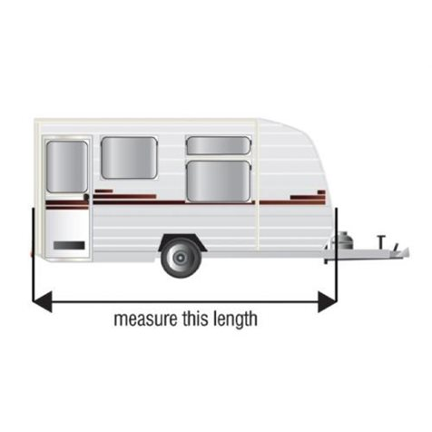 additional image for Maypole 4-Ply Green Caravan Cover With Free Hitch Cover & Storage Bag