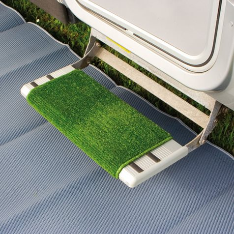 additional image for Fiamma Clean Step Motorhome Mat - Green or Black