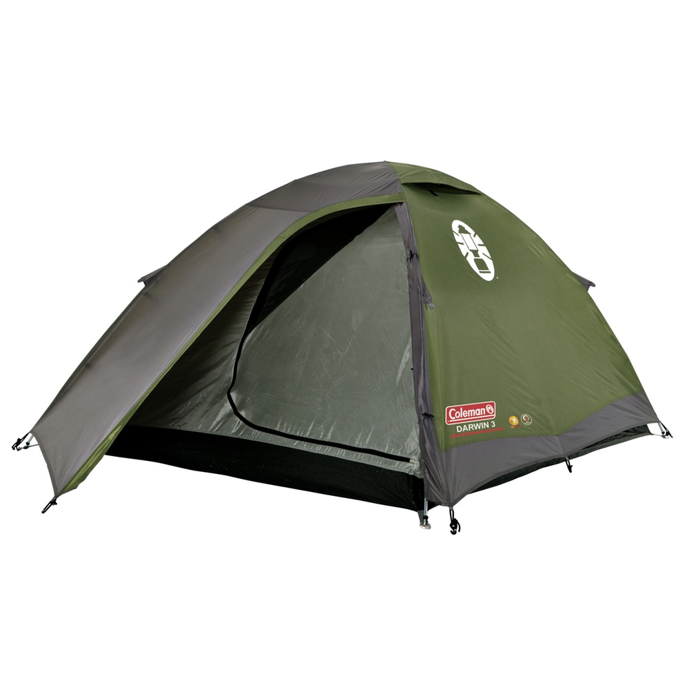 The Darwin 2 from Coleman is ideal for those looking for a comfortable yet compact tent capable of sleeping 2 people itu0027s great for frequent c&ers who ...  sc 1 st  eBay & Coleman Darwin 2 Tent - 2018 Model 2 Person Camping Hiking Tent | eBay