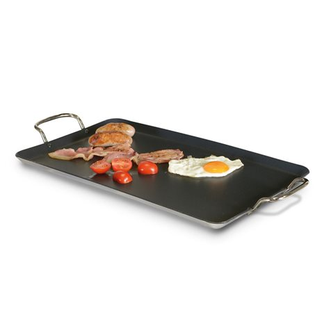 additional image for Kampa Easy-Over Non-Stick Griddle