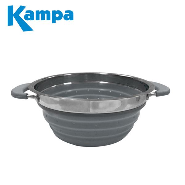 Kampa Grey Collapsible Colander