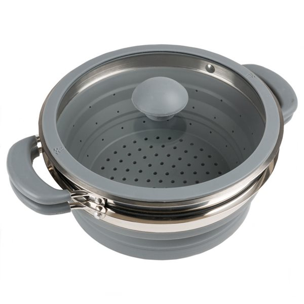 additional image for Kampa Grey Collapsible Colander