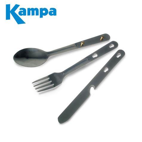 Kampa Knife, Fork & Spoon Set