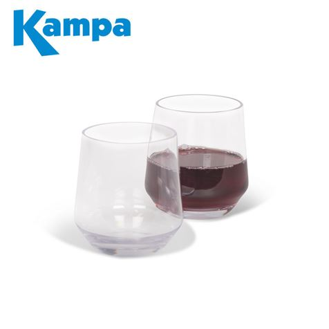 Kampa Pack Of 2 Soho Tumbler Polycarbonate Glasses