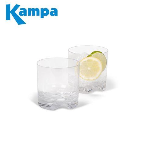 Kampa Pack Of 4 Tumbler Polycarbonate Glasses