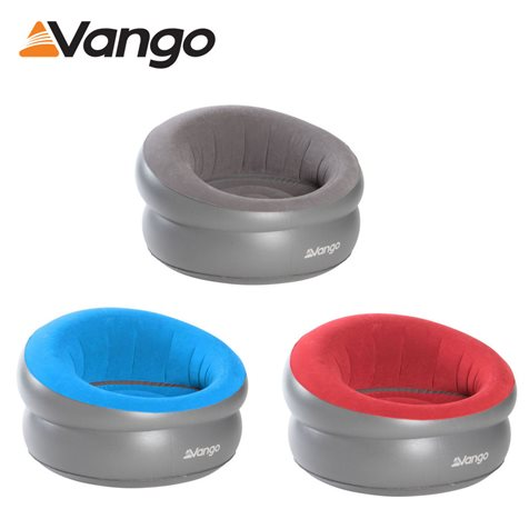 additional image for Vango Inflatable Flocked Donut Chair - Range Of Colours - 2020 Model