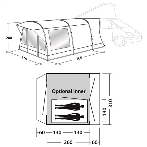 additional image for Easy Camp Wimberly Driveaway Awning 2019 Model