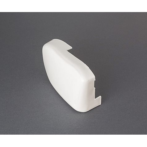 additional image for Fiamma Left Hand White Outer End Cap