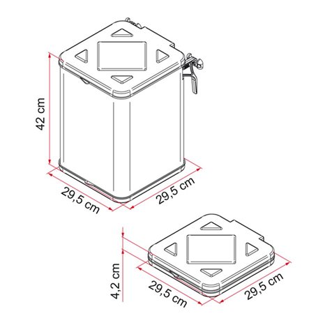 additional image for Fiamma Pack Waste Portable Camping Bin