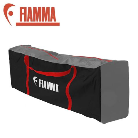 Fiamma Mega Bag Black, Red And Grey