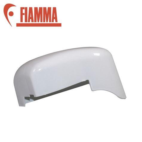 Fiamma F45i Left Hand End Cap Polar White