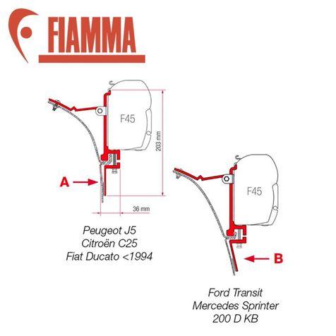 Fiamma F45 Van Adaptor Kit