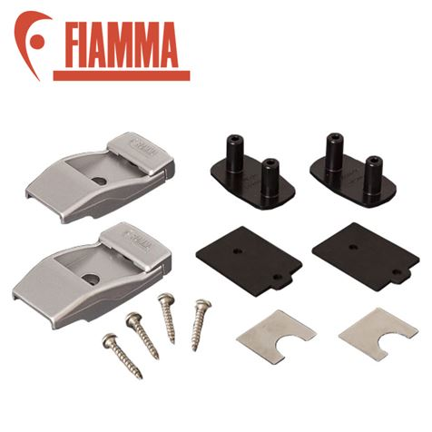 Fiamma Aluminium Awning Leg Wall Brackets