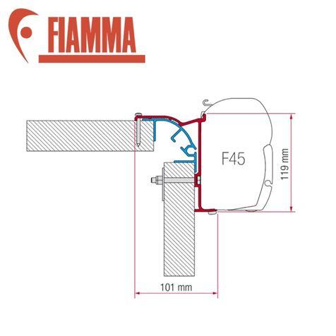 Fiamma F45 Bailey MK2 Adapter Kit