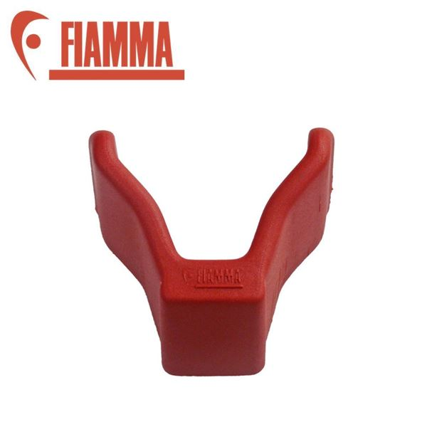 Fiamma Red Rail End Cap 2002