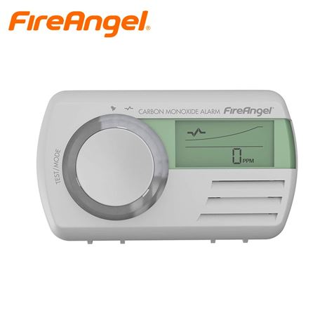 Fire Angel Digital Carbon Monoxide Smoke Alarm