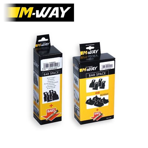 M-Way Roof Bar Fitting Kit 55