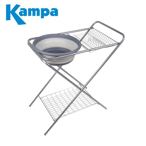 Kampa Washing Up Stand With Collapsible Bowl - New for 2019