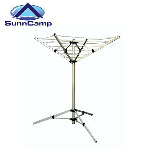 SunnCamp 4 Arm Portable Aluminium Rotary Airer