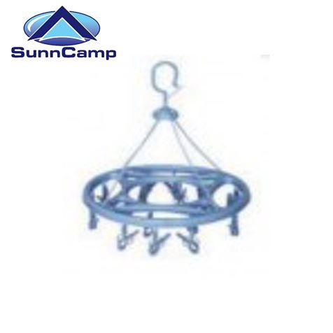 Clip On Rotary Clothes Airer