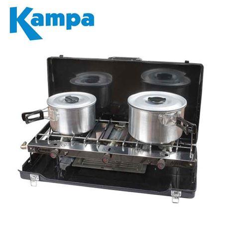 Kampa Alfresco Double Gas Hob & Grill