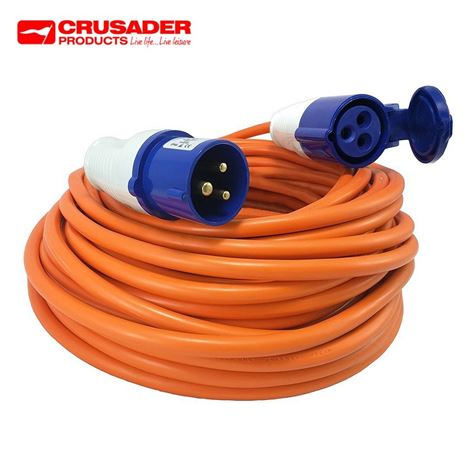 25m Heavy Duty Caravan Mains Connection Lead
