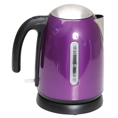 additional image for Quest 1.2L Stainless Steel Cordless Kettle - Range of Colours