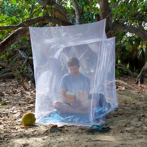 additional image for Lifesystems Box Mosquito Net - Single or Double