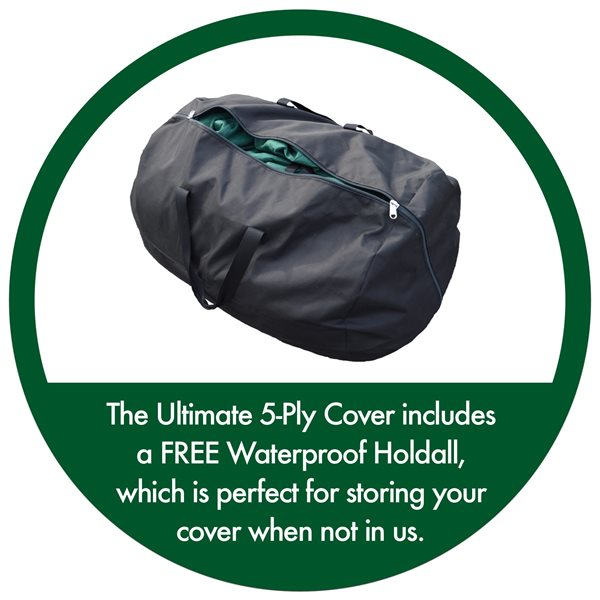 additional image for Maypole Breathable Ultimate 5-Ply Green Caravan Cover