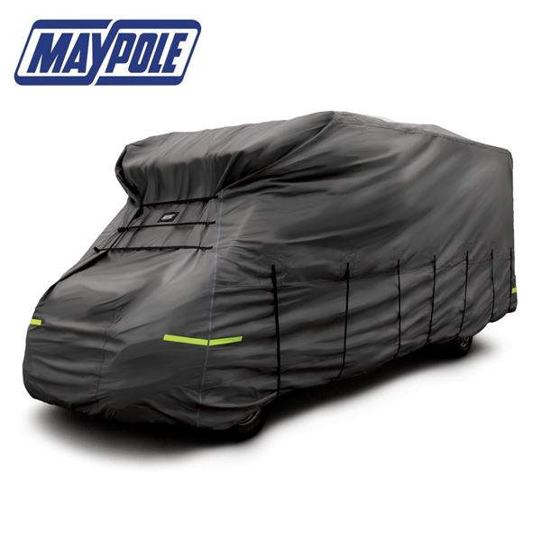 Maypole 4-Ply Grey Motorhome Cover With Free Storage Bag - New 2020 Model
