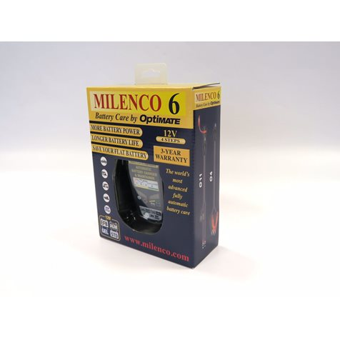 additional image for Milenco 6 by Optimate Multi Step Smart Battery Charger