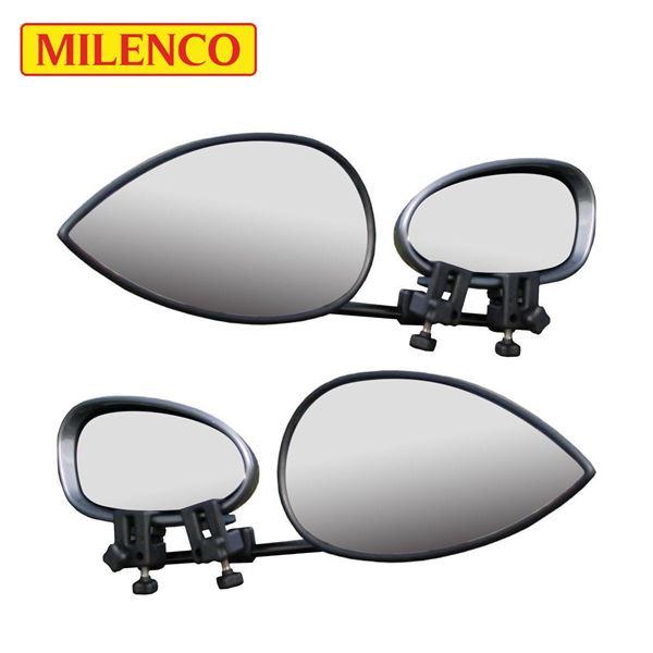 Milenco Aero 3 Flat Towing Mirror Twin Pack