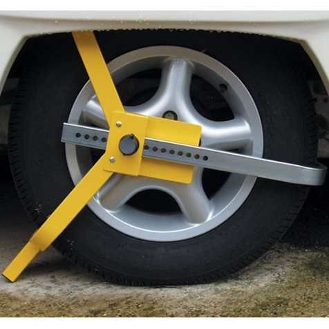 additional image for Milenco Lightweight Wheel Clamp