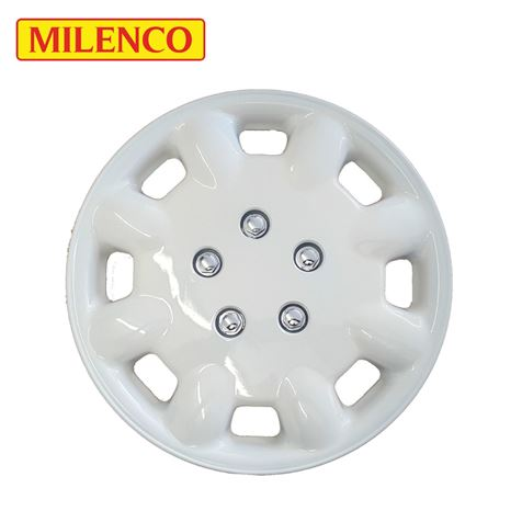 "Milenco 14"" Magnolia Caravan Wheel Trims"