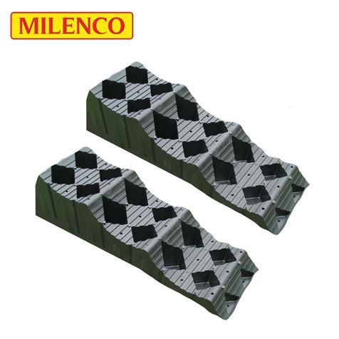 Milenco MGI Maxi Level T3 Wheel Leveller Twin Pack