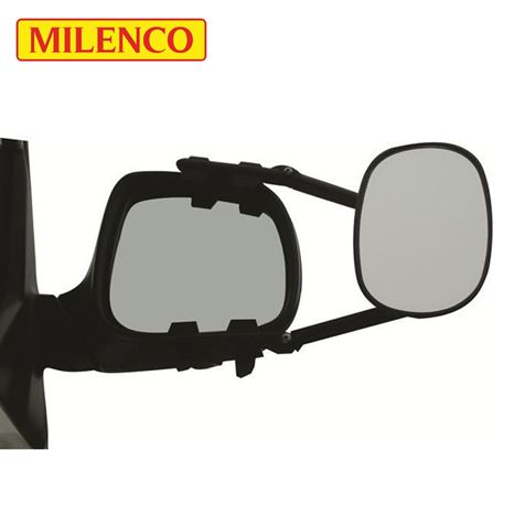 Milenco MGI Steady Flat XL Towing Mirror Twin Pack