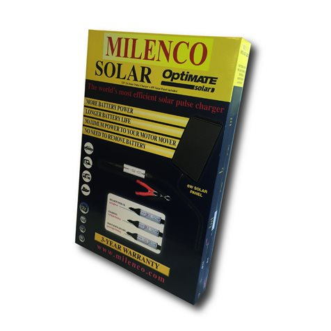 additional image for Milenco Optimate Solar Panel Battery Charger