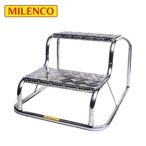 Milenco Original Aluminium Double Step