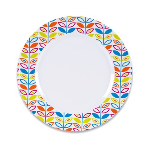additional image for Kampa Flora Summer 16 Piece Melamine Set