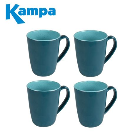 Kampa Java 4 Piece Mug Set