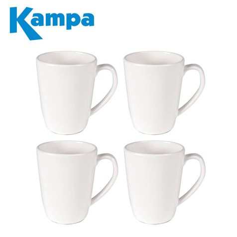 Kampa Blanco 4 Piece Mug Set