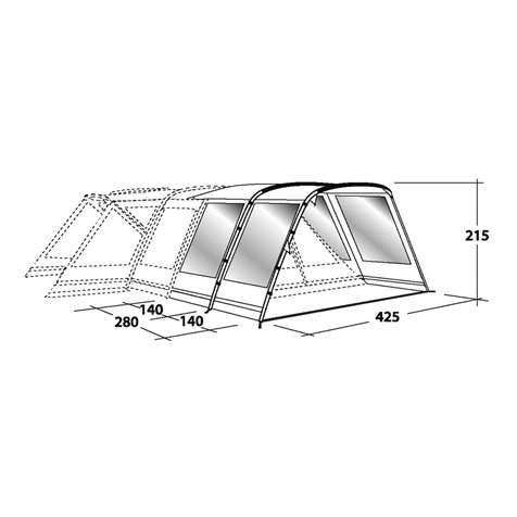 additional image for Outwell Montana 6 Front Extension