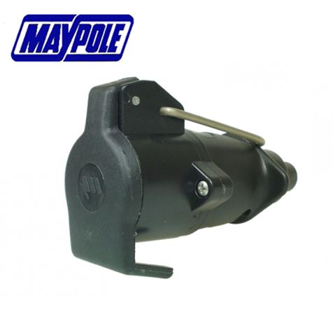 12S Type 7 Pin Plastic Socket