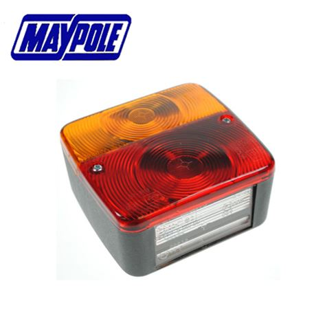 Maypole 12V Radex Square Rear Combination Lamp