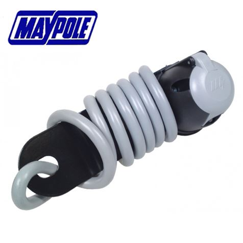 Maypole 7 Pin S Type Socket Assembly With Mounting Plate