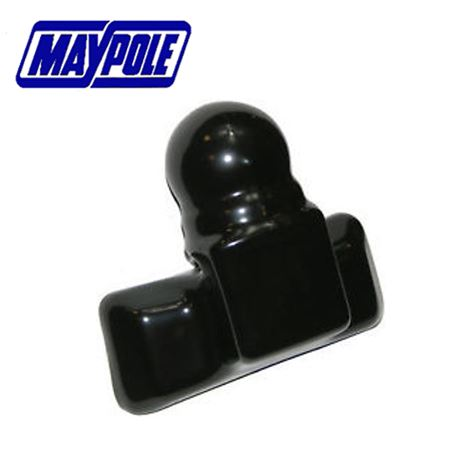 Maypole Black PVC Towball Cover